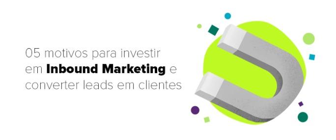 motivos para implementar inbound marketing